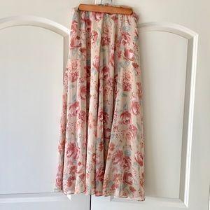 Beautiful Laura Ashley ankle length skirt. Sz 6/8